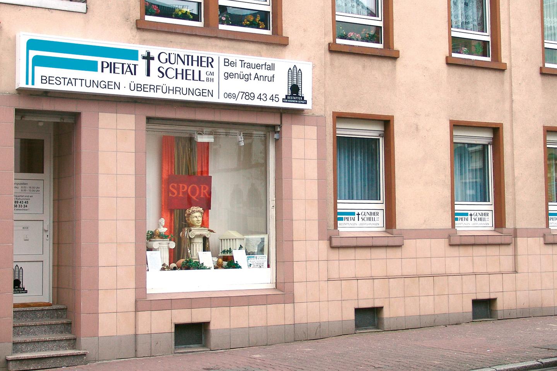 Pietät Günther Schell Bestattungen Frankfurt